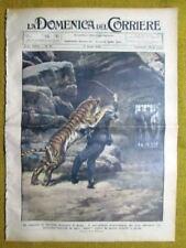 La Domenica del Corriere 11 aprile 1926 Roma - Chateauroux (Francia) - Cashemir