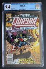 QUASAR #1 (#32) 1st KORATH the PURSUER Danvers CAPTAIN MARVEL Movie 1992 CGC 9.4
