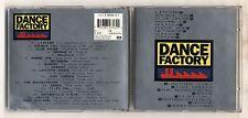 Cd DANCE FACTORY Volume 1 - PERFETTO Litfiba Molella Datura Usura Venice