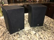 VINTAGE (1990'S) PAIR YAMAHA NS-A16 Bookshelf Speakers EXC- w/grills 8-Ohm/80wts