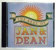 The Best of Jan & Dean  - CD -  Baby Talk / Jennie Lee / Heart and Soul / etc.