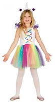 Girls Unicorn Costume Kids Fairytale Fancy Dress Rainbow Book Week 3-4-6-9 NEW