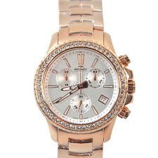 Rotary Women's Analog Display Swiss Quartz Rose Gold Watch Model: ALB90088/C/01