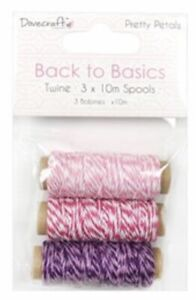 Dovecrafts Pretty Petal Back To Basics Twine