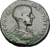 DIADUMENIAN 217AD Nicopolis ad Istrum DEMETER RARE Ancient Roman Coin i50980