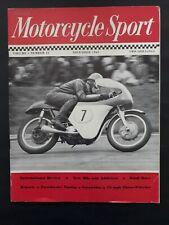 MOTORCYCLE SPORT - 1963 - SCRAMBLES - 75MPH THREE WHEELER