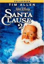 Disney Tim Allen Family Christmas Comedy The Santa Clause 2 Fullscreen DVD