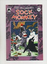 Tony Millionaire's Sock Monkey Vol 2 #1 - (Grade 9.2) 1999