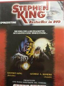 CREEPSHOW DVD CON LIBRETTO STEPHEN KING BESTSELLER DEAGOSTINI
