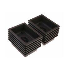 12PACK RetroStyle Plastic Bonsai Training Pots Balcony Indoor Rectangle Squar...