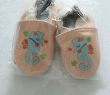 New-Soft sole leather baby shoes