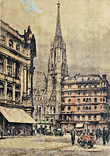 Original-Radierungen (1900-1949) mit Architektur-Motiv