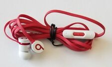 Genuine Dre urBeats beats Wired Headphones wt Extra Eargels - WHITE -Refurbished
