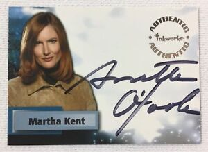 Inkworks SMALLVILLE autograph trading card #A7~ ANNETTE O'TOOLE Martha Kent