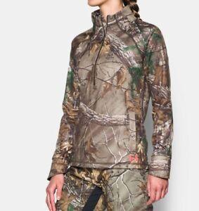 Under Armour women's Camp 1/2 Zip Hunting Fleece size XL