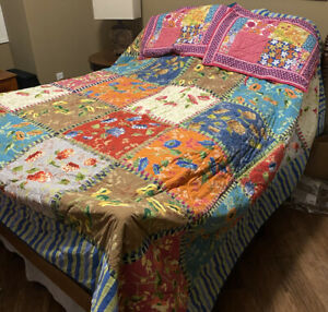 The Company Store Queen Quilt and Shams