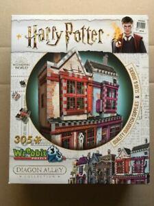 ~ HARRY POTTER ~ Quality Quidditch Supplies/Slug & Jiggers ~ Wrebbit 3D Puzzle ~