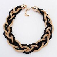 Fashion Jewelry Women Pendant Collar Bib Choker Statement Chunky Necklace Chain