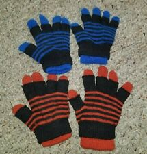 OLD NAVY Lot of Convertible Double Layer Little Boys Gloves Fits Ages 2-8