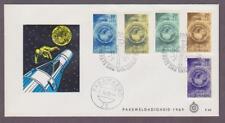 Suriname Semi-Postal # B152 - B156 , Earth / Globe / Space FDC - I Combine S/H