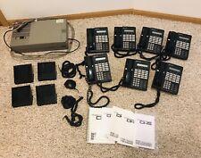 New listing Vodavi Starplus 7 phones Sp7314-71 and Dhs Sp7000-00 Plus Accessories