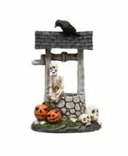 Miniature Dollhouse Fairy Garden Halloween Skeleton Wishing Well - Buy 3 Save $5