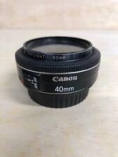 Canon EF 40 mm F/2.8 EF STM For Canon - Black
