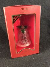 Lenox 2010 Annual Crystal Bell Holly and Berry