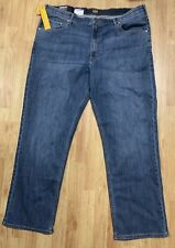 Lee's Relaxed Custom Fit Big Tall 44x32 Jeans Comfort Stretch Brand New