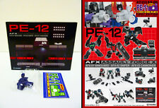 PERFECT EFFECT - PE-12 - AFX[ASSAULT FORCE X] (TRANSFORMERS 3RD PARTY)