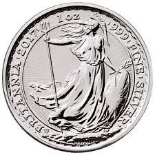 2017 Silver British Britannia 20th Anniversary Trident Privy 1 oz Silver Coin