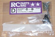 Tamiya 58179 Williams Renault FW18/F103RS, 9415293/19415293 D Bolsa de piezas de metal