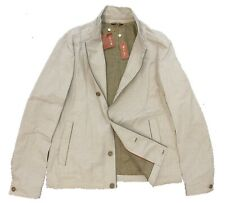 $2,145 Loro Piana Houndstooth Green Summer Bomber Size Large Made in Italy