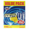 NEW AUSSIE CLEAN DISHWASHING TABLETS LEMON DISHWASHER CLASSIC 100 PACK N FINISH