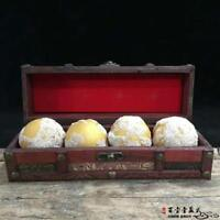 China Antique Tibet Tibetan Buddhism Four Shariputra Buddha's relics