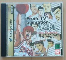 SLAM DUNK from TV animation for Sega Saturn from Japan