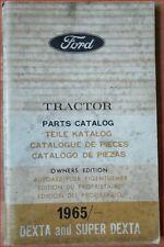 Ford Dexta  und Super Dexta 1965 Teilekatalog