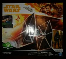 Star Wars 3.75 Hasbro Solo Original Trilogy Imperial Tie Fighter Force Link 2.0