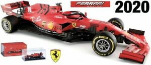 FERRARI SCUDERIA F1 car S Vettel or C LeClerc 2020 1:43 BURAGO 36819L 36819V
