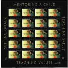Scott #3556..  34 Cent...Mentoring A Child...  Sheet  of 20