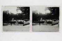 Nîmes Placca Lente Stereo Vintage Positivo 6x13cm
