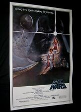 "Original STAR WARS Rare 1982 27"" x 41"" 1 Sheet Video Poster ROLLED VF"