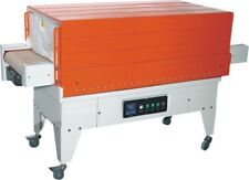 BS-G450 SHRINK FILM TUNNEL - TEFLON MESH CONVEYOR VERSION FOR HEAVIER ITEMS 220V
