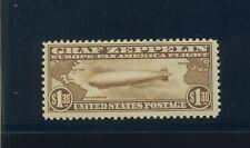 Scott #C14 Graf Zeppelin Air Mail Mint Stamp  w/ Weiss Cert (Stock #C14-160)