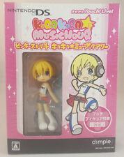 Pinky st Kira Kira Music Hour Game & Puchi Figure Limited Nintendo DS Japan NEW
