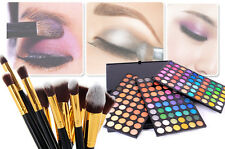 10Pcs Makeup Brushes + 180 Color Eyeshadow Palette Eye Shadow Cosmetic Set