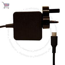 45W Usb Tipo C C-USB Cargador Adaptador De Corriente Para Dell XPS12 fuente de alimentación UKES