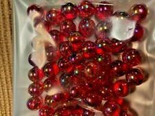 50 CT PACK  10 MM RED BEADS  SALMON, STEELHEAD, TROUT  REUSABLE