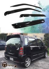 For Suzuki Solio Wagon R 03-08 Deflector Window Visors Guard Vent Weather Shield