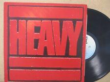 HEAVY- The Best of Hard Rock/Metal 1983 VA LP VG+ (Iron Maiden/Rush/Motorhead)